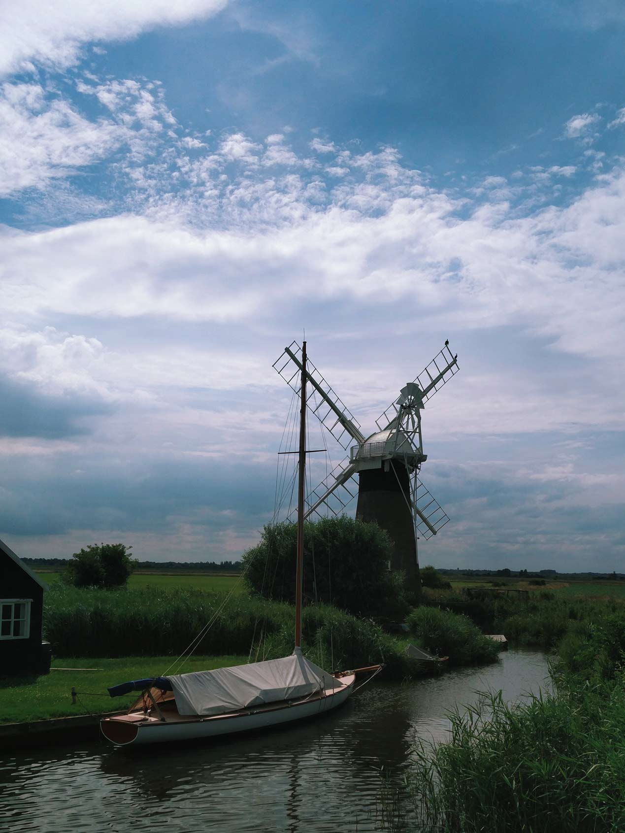 windmill and sail